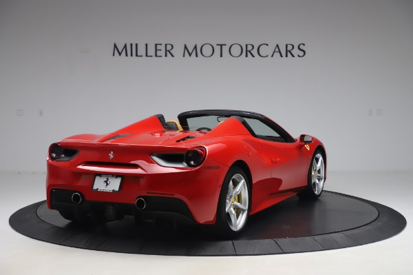 Used 2018 Ferrari 488 Spider Base for sale $289,900 at Maserati of Westport in Westport CT 06880 7