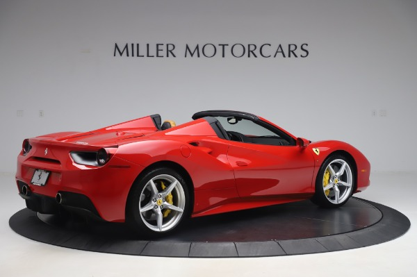 Used 2018 Ferrari 488 Spider Base for sale $289,900 at Maserati of Westport in Westport CT 06880 8