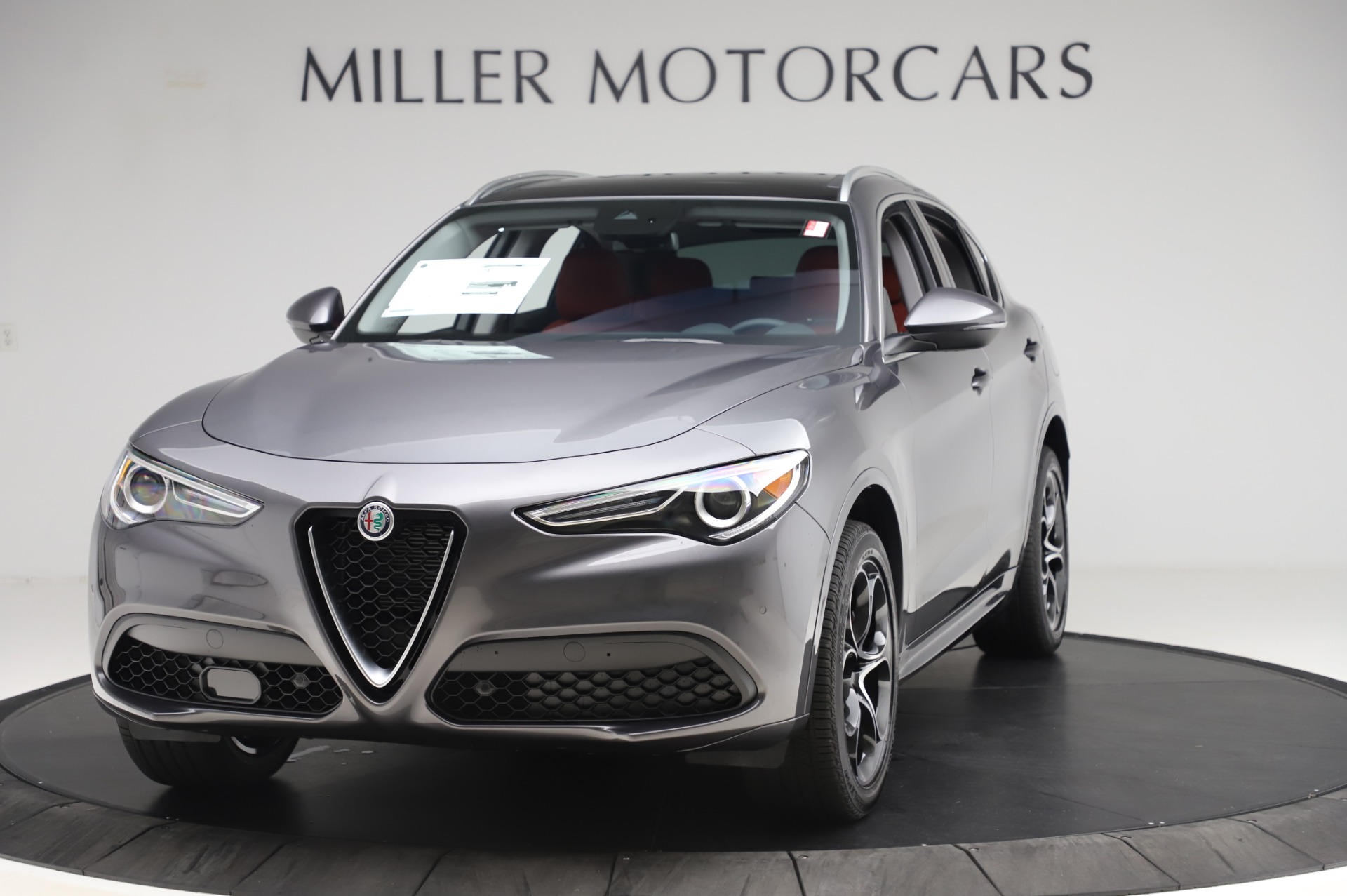 New 2020 Alfa Romeo Stelvio Ti Q4 for sale Sold at Maserati of Westport in Westport CT 06880 1