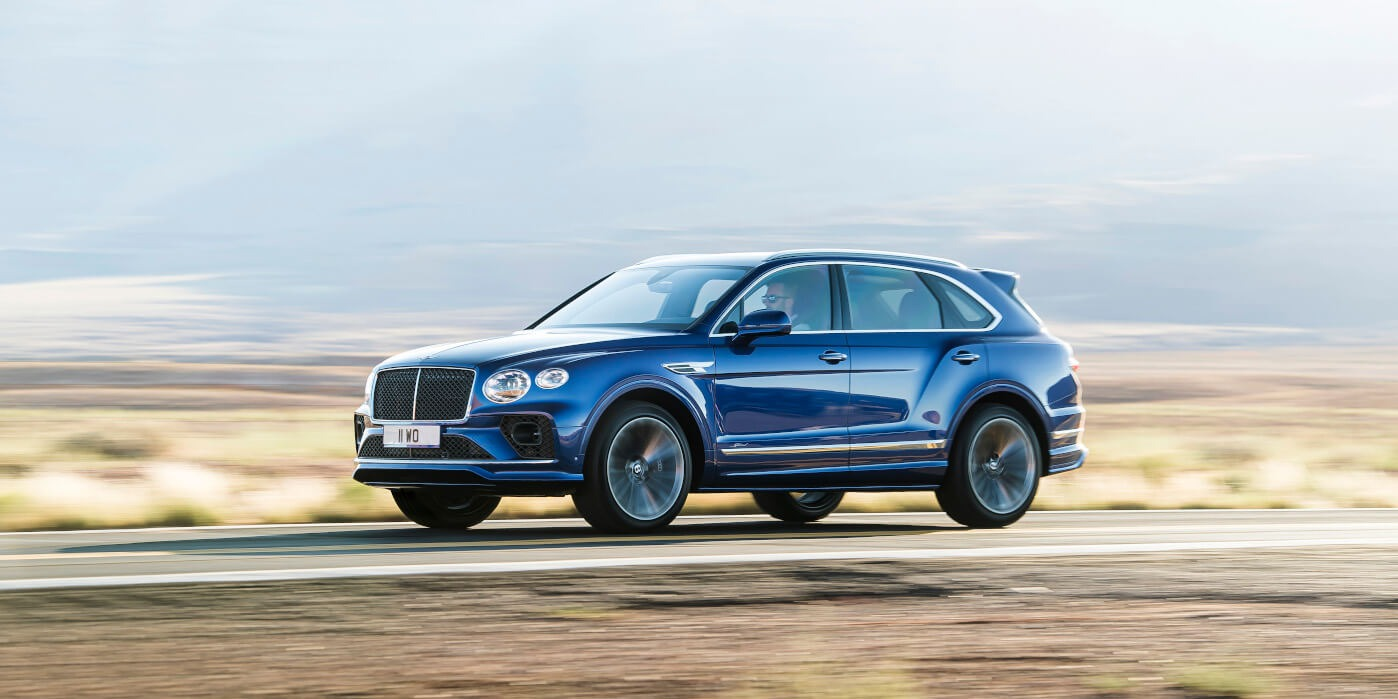New 2021 Bentley Bentayga Speed for sale Call for price at Maserati of Westport in Westport CT 06880 1