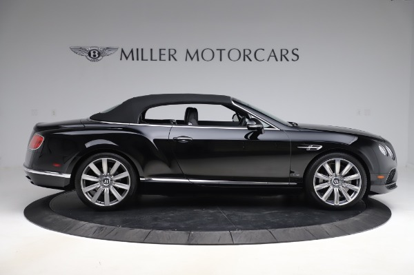 Used 2016 Bentley Continental GTC W12 for sale Call for price at Maserati of Westport in Westport CT 06880 18