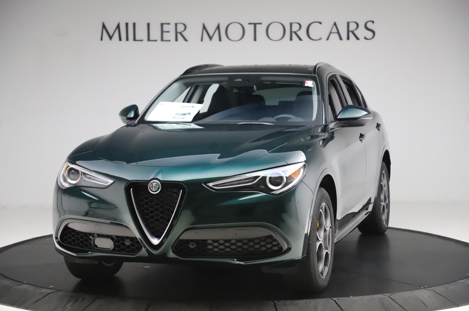 New 2020 Alfa Romeo Stelvio Sport Q4 for sale $49,995 at Maserati of Westport in Westport CT 06880 1