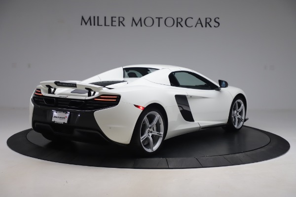 Used 2016 McLaren 650S Spider for sale $152,900 at Maserati of Westport in Westport CT 06880 14