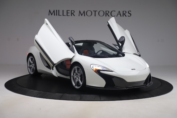 Used 2016 McLaren 650S Spider for sale $152,900 at Maserati of Westport in Westport CT 06880 21