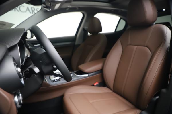 New 2020 Alfa Romeo Stelvio Q4 for sale $49,045 at Maserati of Westport in Westport CT 06880 14