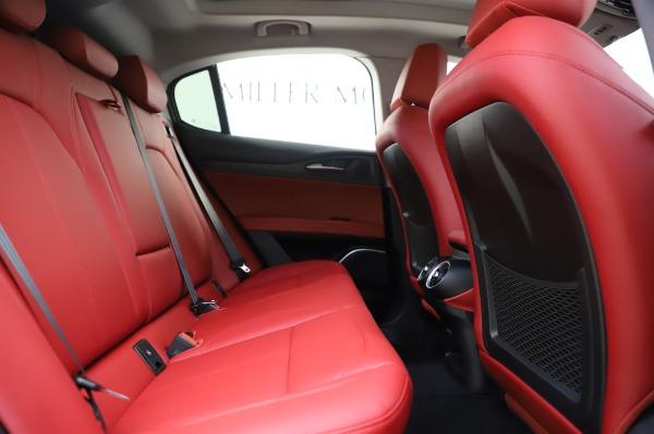 New 2020 Alfa Romeo Stelvio Sport Q4 for sale Sold at Maserati of Westport in Westport CT 06880 27