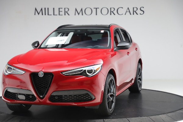 New 2020 Alfa Romeo Stelvio Sport Q4 for sale Sold at Maserati of Westport in Westport CT 06880 1