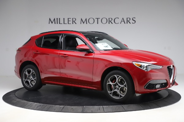 New 2020 Alfa Romeo Stelvio Sport Q4 for sale $50,645 at Maserati of Westport in Westport CT 06880 10