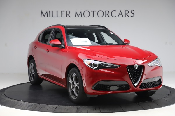 New 2020 Alfa Romeo Stelvio Sport Q4 for sale $50,645 at Maserati of Westport in Westport CT 06880 11