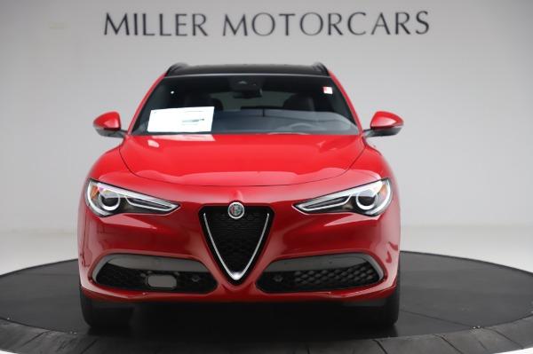 New 2020 Alfa Romeo Stelvio Sport Q4 for sale $45,645 at Maserati of Westport in Westport CT 06880 12