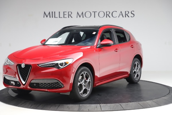 New 2020 Alfa Romeo Stelvio Sport Q4 for sale $50,645 at Maserati of Westport in Westport CT 06880 2