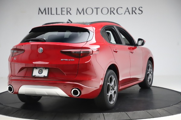 New 2020 Alfa Romeo Stelvio Sport Q4 for sale $50,645 at Maserati of Westport in Westport CT 06880 7