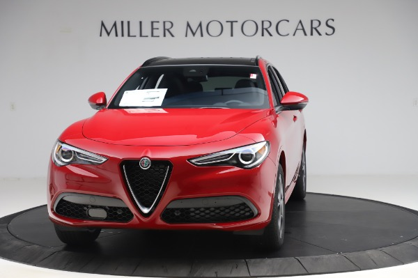 New 2020 Alfa Romeo Stelvio Sport Q4 for sale $50,645 at Maserati of Westport in Westport CT 06880 1