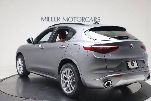 New 2020 Alfa Romeo Stelvio Ti Sport Q4 for sale $53,545 at Maserati of Westport in Westport CT 06880 5