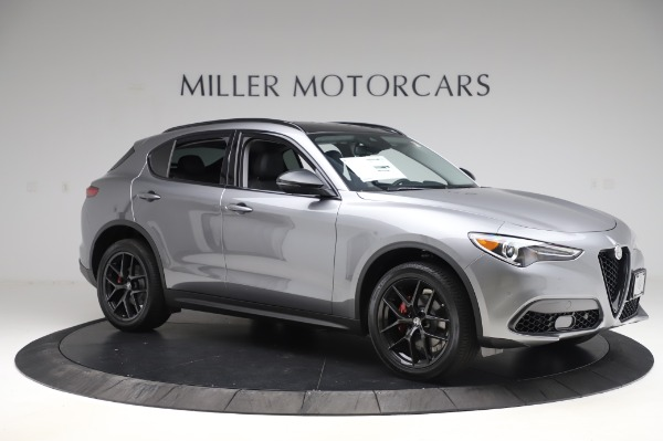 New 2020 Alfa Romeo Stelvio for sale $50,145 at Maserati of Westport in Westport CT 06880 10