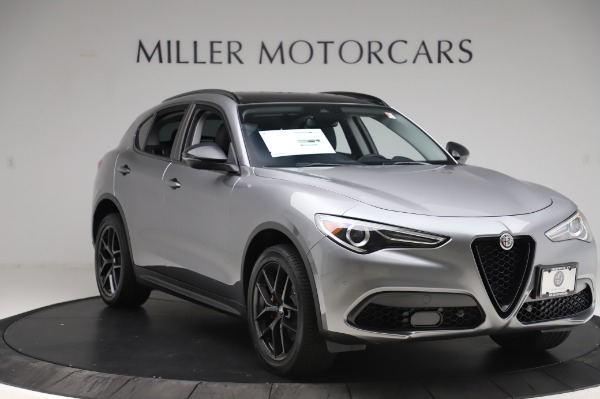 New 2020 Alfa Romeo Stelvio for sale $50,145 at Maserati of Westport in Westport CT 06880 11