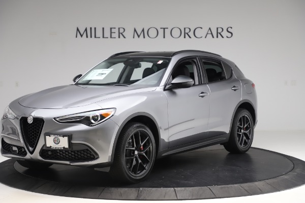 New 2020 Alfa Romeo Stelvio for sale $50,145 at Maserati of Westport in Westport CT 06880 2