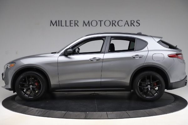 New 2020 Alfa Romeo Stelvio for sale $50,145 at Maserati of Westport in Westport CT 06880 3
