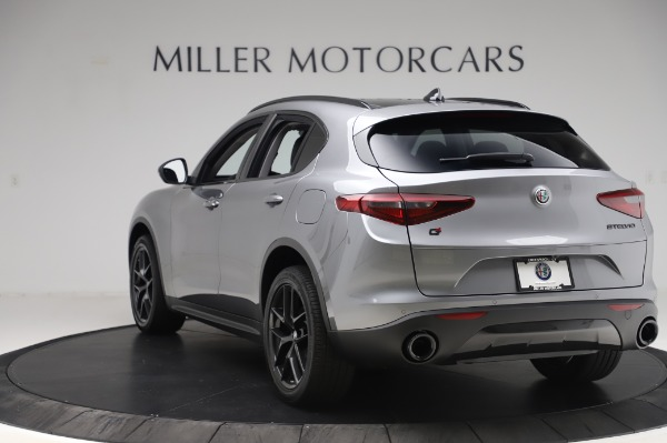 New 2020 Alfa Romeo Stelvio for sale $50,145 at Maserati of Westport in Westport CT 06880 5