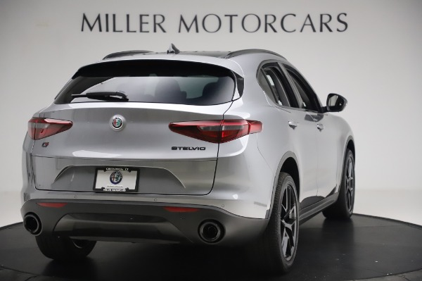 New 2020 Alfa Romeo Stelvio for sale $50,145 at Maserati of Westport in Westport CT 06880 7