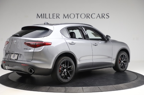 New 2020 Alfa Romeo Stelvio for sale $50,145 at Maserati of Westport in Westport CT 06880 8