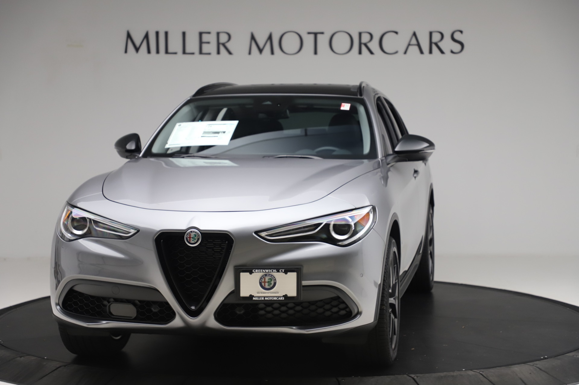 New 2020 Alfa Romeo Stelvio for sale $50,145 at Maserati of Westport in Westport CT 06880 1