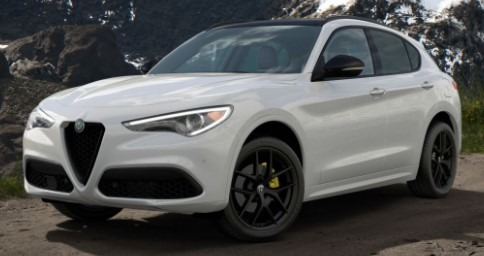 New 2020 Alfa Romeo Stelvio Ti Sport for sale $57,645 at Maserati of Westport in Westport CT 06880 1