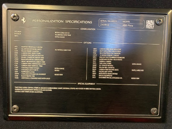 Used 2019 Ferrari 488 Pista for sale $447,900 at Maserati of Westport in Westport CT 06880 28