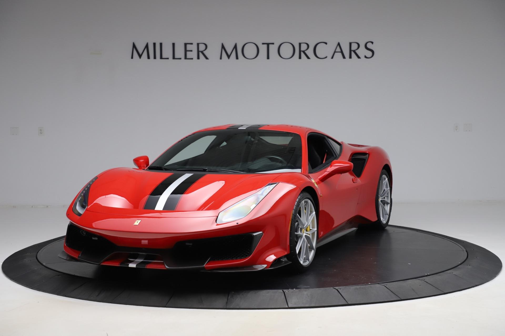 Used 2019 Ferrari 488 Pista for sale $447,900 at Maserati of Westport in Westport CT 06880 1