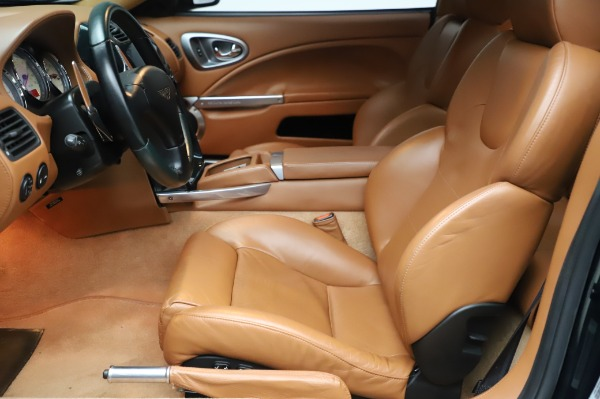Used 2003 Aston Martin V12 Vanquish Coupe for sale $79,900 at Maserati of Westport in Westport CT 06880 14