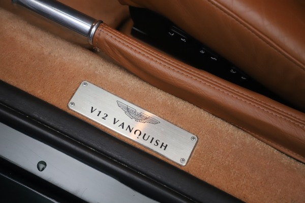 Used 2003 Aston Martin V12 Vanquish Coupe for sale $79,900 at Maserati of Westport in Westport CT 06880 16