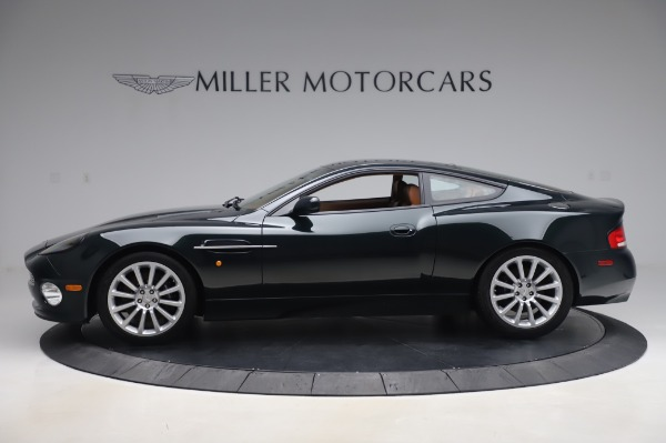 Used 2003 Aston Martin V12 Vanquish Coupe for sale $79,900 at Maserati of Westport in Westport CT 06880 2