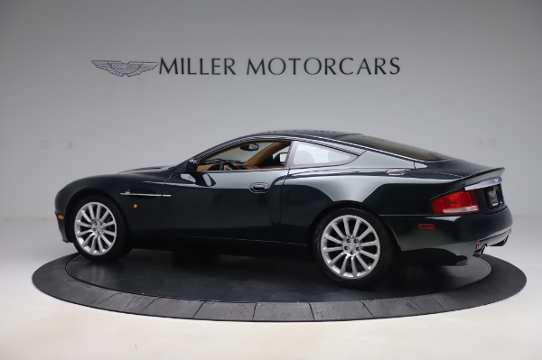 Used 2003 Aston Martin V12 Vanquish Coupe for sale $79,900 at Maserati of Westport in Westport CT 06880 3