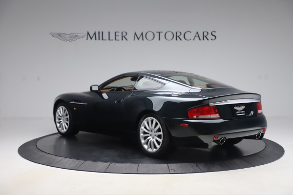 Used 2003 Aston Martin V12 Vanquish Coupe for sale $79,900 at Maserati of Westport in Westport CT 06880 4
