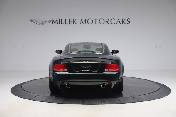 Used 2003 Aston Martin V12 Vanquish Coupe for sale $79,900 at Maserati of Westport in Westport CT 06880 5