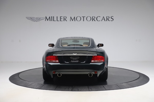 Used 2003 Aston Martin V12 Vanquish Coupe for sale $79,900 at Maserati of Westport in Westport CT 06880 6