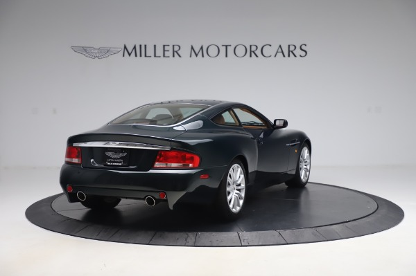 Used 2003 Aston Martin V12 Vanquish Coupe for sale $79,900 at Maserati of Westport in Westport CT 06880 7