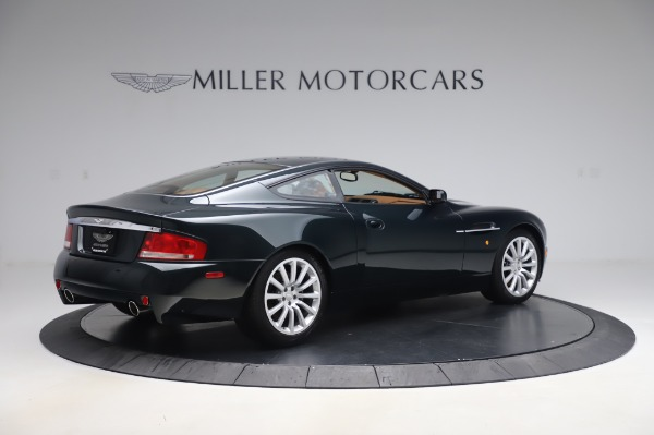 Used 2003 Aston Martin V12 Vanquish Coupe for sale $79,900 at Maserati of Westport in Westport CT 06880 8