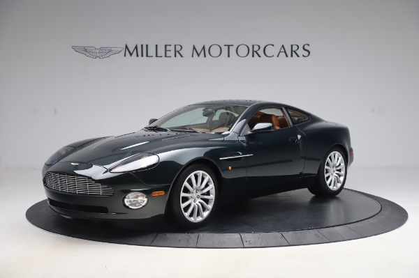Used 2003 Aston Martin V12 Vanquish Coupe for sale $79,900 at Maserati of Westport in Westport CT 06880 1