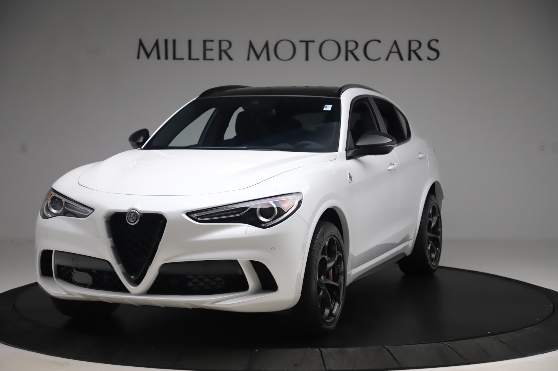 New 2020 Alfa Romeo Stelvio Quadrifoglio for sale $90,945 at Maserati of Westport in Westport CT 06880 1