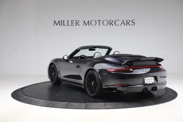 Used 2018 Porsche 911 Carrera 4 GTS for sale $137,900 at Maserati of Westport in Westport CT 06880 4