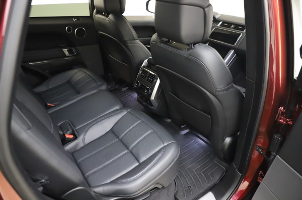 Used 2019 Land Rover Range Rover Sport Autobiography for sale Sold at Maserati of Westport in Westport CT 06880 23