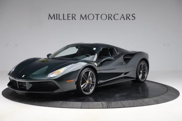 Used 2019 Ferrari 488 Spider Base for sale $329,900 at Maserati of Westport in Westport CT 06880 13