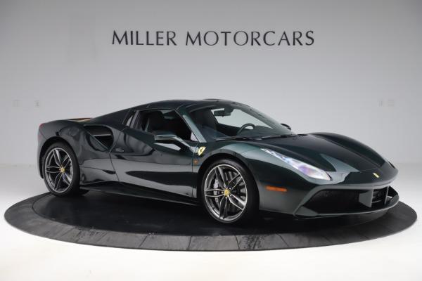 Used 2019 Ferrari 488 Spider Base for sale $329,900 at Maserati of Westport in Westport CT 06880 18