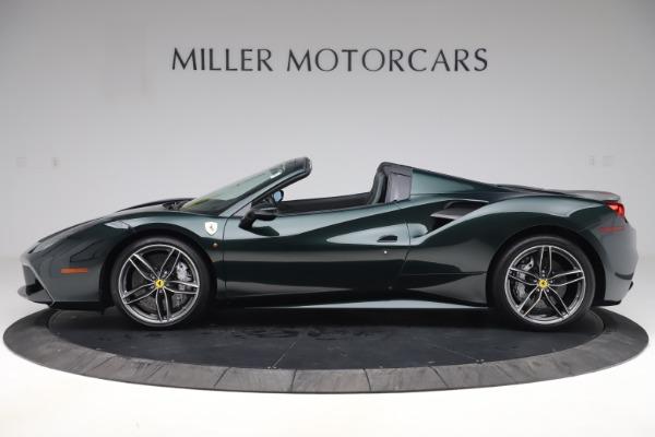 Used 2019 Ferrari 488 Spider Base for sale $329,900 at Maserati of Westport in Westport CT 06880 3