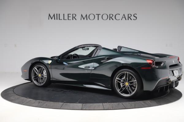 Used 2019 Ferrari 488 Spider Base for sale $329,900 at Maserati of Westport in Westport CT 06880 4
