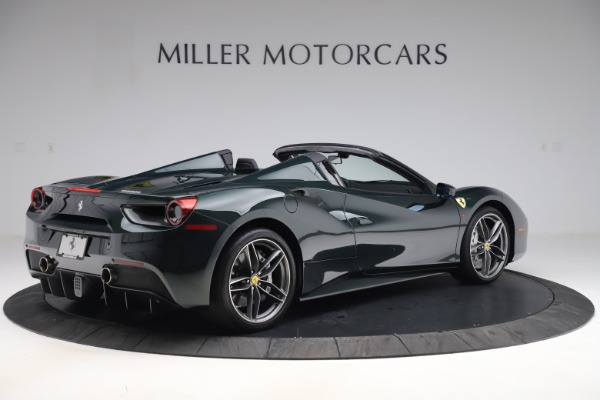 Used 2019 Ferrari 488 Spider Base for sale $329,900 at Maserati of Westport in Westport CT 06880 8