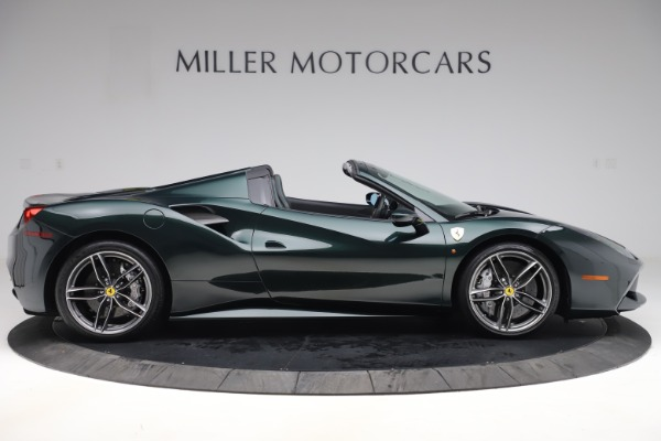 Used 2019 Ferrari 488 Spider Base for sale $329,900 at Maserati of Westport in Westport CT 06880 9