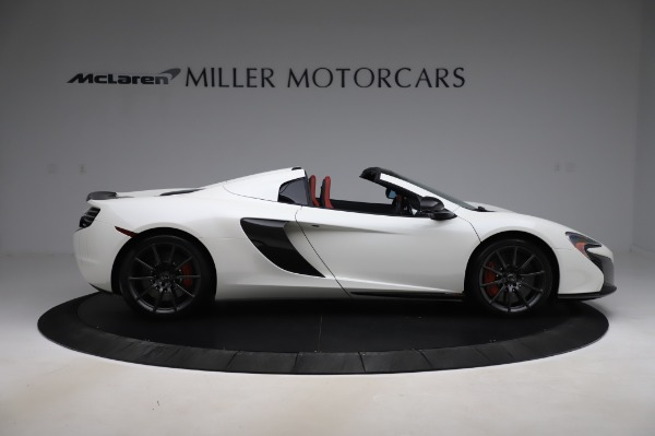 Used 2016 McLaren 650S Spider for sale $159,900 at Maserati of Westport in Westport CT 06880 11
