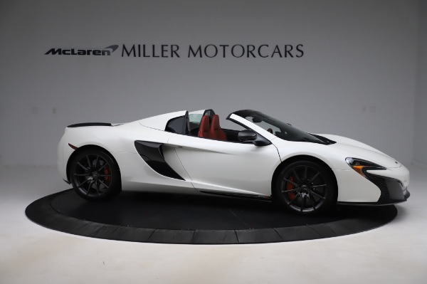 Used 2016 McLaren 650S Spider for sale $159,900 at Maserati of Westport in Westport CT 06880 12